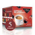 Decaffeinated Espresso for Dolce Gusto