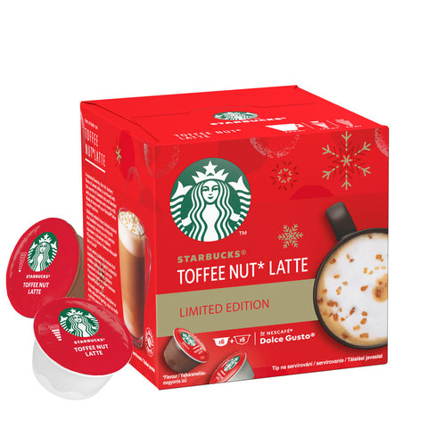 STARBUCKS TOFFEE NUT LATTE BY NESCAFÉ® DOLCE GUSTO®