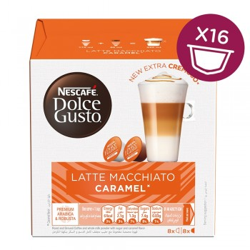 NESCAFÉ® Dolce Gusto® Caramel Latte Macchiato -   Number of servings 8