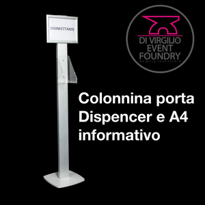 Colonnine Porta Dispenser