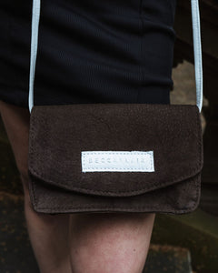 Jake Bag - Chocolate Suede