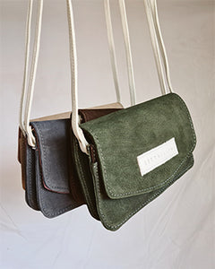 Jake Bag - Olive Suede
