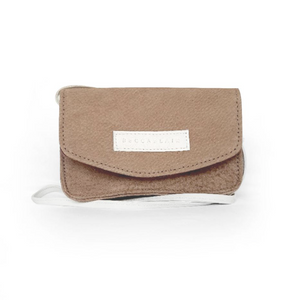 Jake Bag - Beige Suede