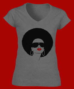 Women's Heather Grey Urban Girl T-Shirt - Urban Girl Fund