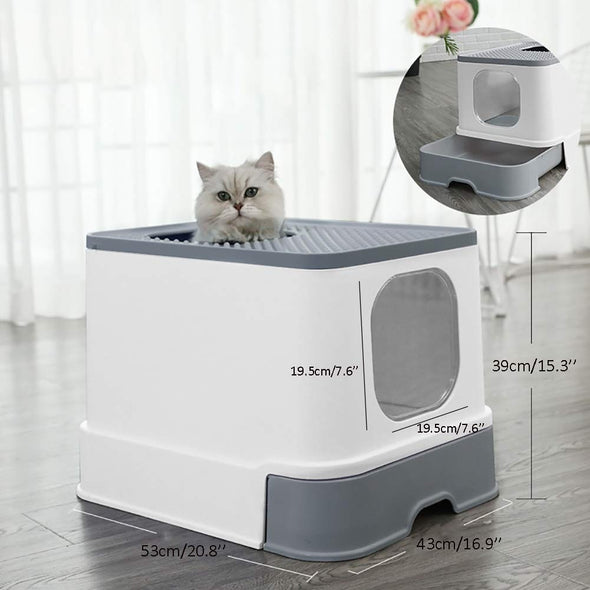 Large capacity toilet  for cats
