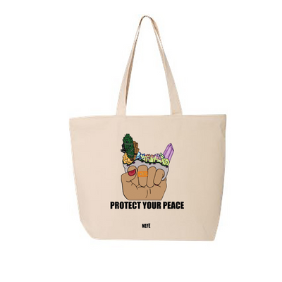 Protect Your Peace Tote Bag
