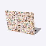 Waifu Anime Girls in Summer wear Sticker Bomb - Expressionco