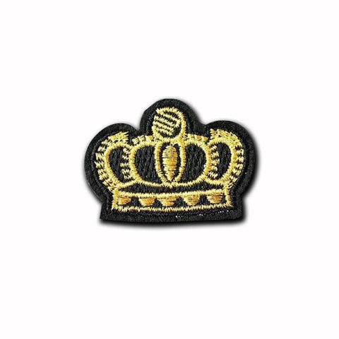 Gold Black Crown Patch - Expressionco