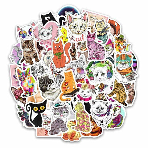Cat Sticker Bomb - Expressionco