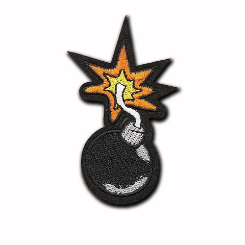Cartoon Bomb Patch - Expressionco