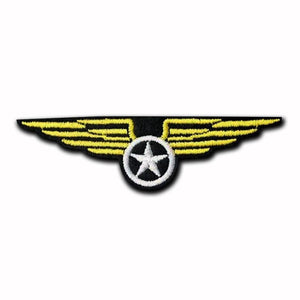 Aviation Wing Patch