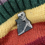 Skeleton Cat Lover Pin - Expressionco