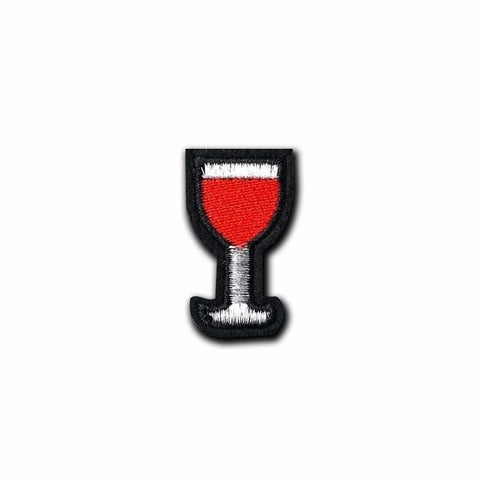 Glass Of Wine Patch - Expressionco