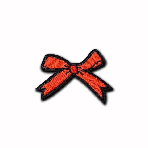 Red Ribbon Bow Patch - Expressionco