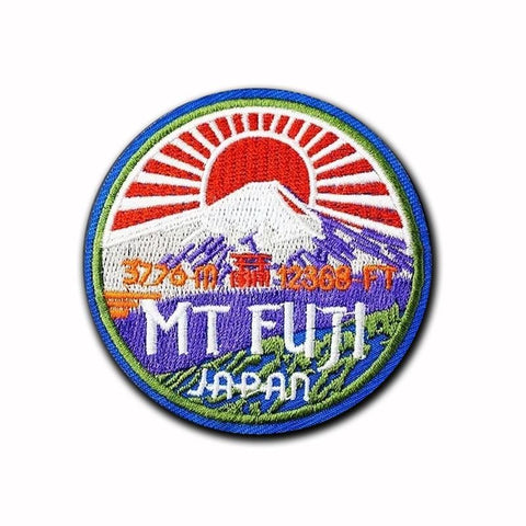 Mt. Fuji Japan Patch - Expressionco