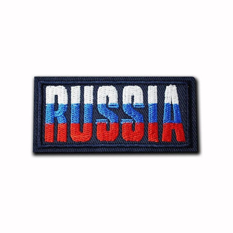 Russia Flag Patch - Expressionco