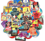 Travel Hotels Sticker Bomb - Expressionco