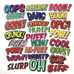 Comic Words Sticker Bomb - Expressionco