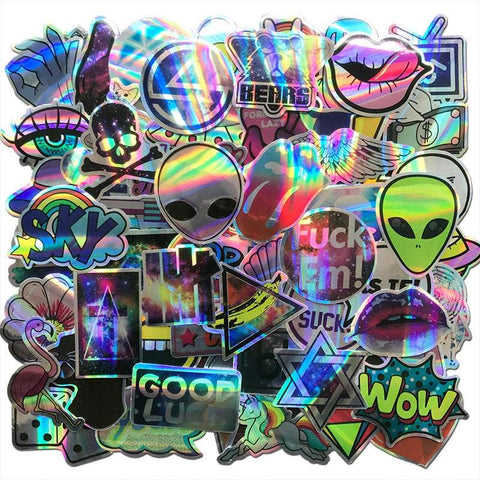 Laser Reflection Sticker Bomb - Expressionco