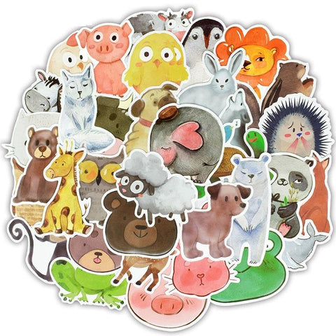 Cute Animals Sticker Bomb - Expressionco