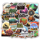 Camping Adventure Sticker Bomb - Expressionco