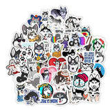 Husky Dog Sticker Bomb - Expressionco