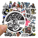 Motocross Sticker Bomb