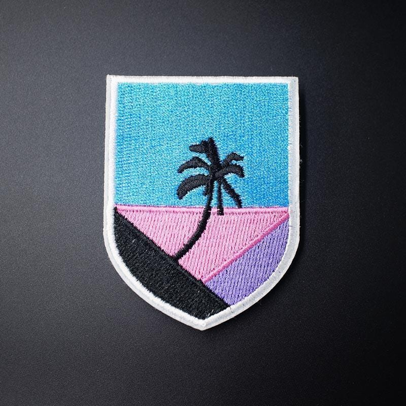 Coconut Palm Tree Patch
