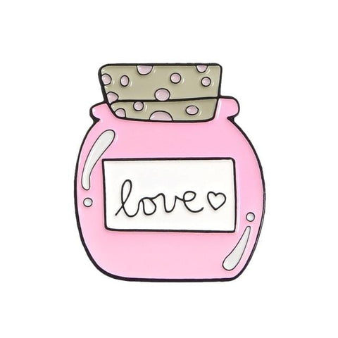 Love Bottle Pin - Expressionco