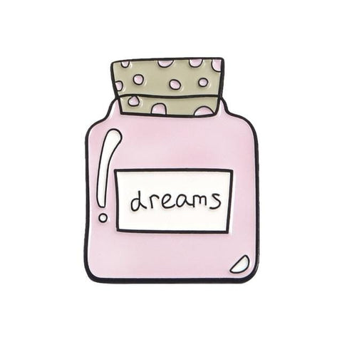 Dreams Bottle Pin - Expressionco