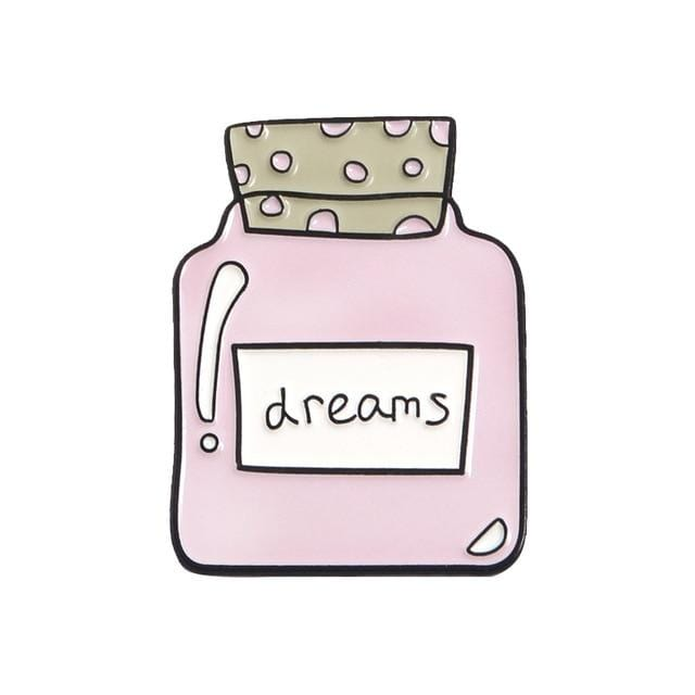 Dreams Bottle Pin