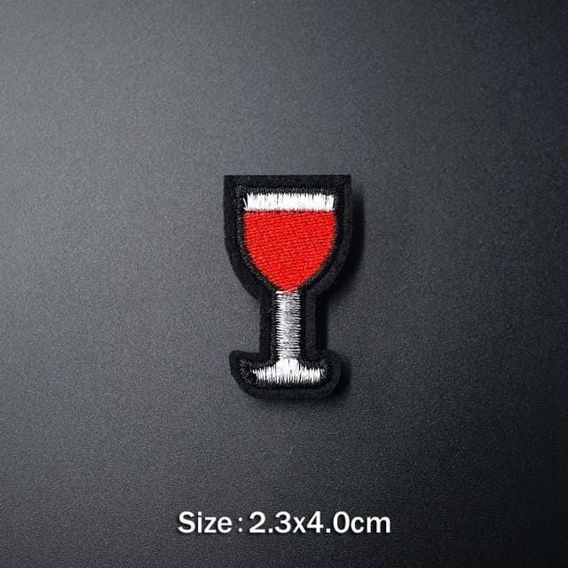 Glass Of Wine Patch