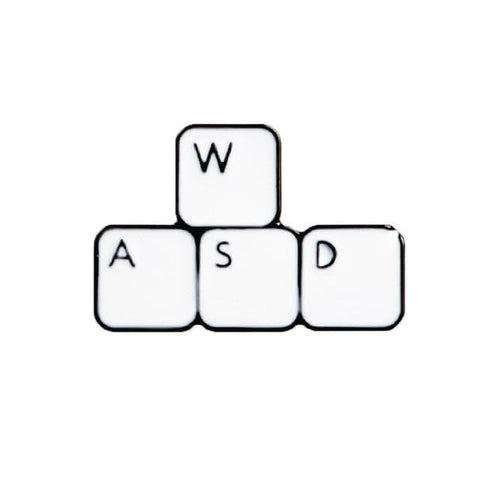 WASD Keyboard Pin - Expressionco