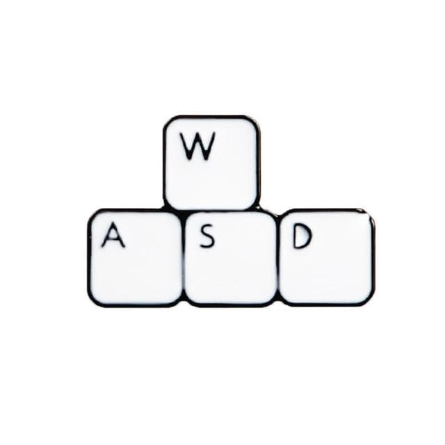 WASD Keyboard Pin