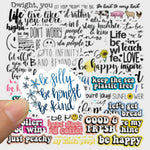 Inspirational Words Sticker Bomb - Expressionco