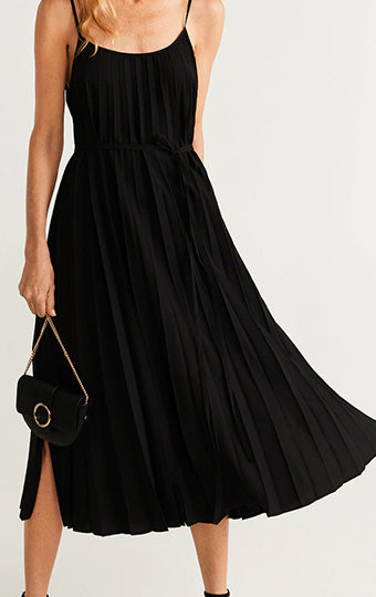 Sleeveless fashion Maxi Dress-M2