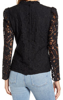 Load image into Gallery viewer, Fashion Lace Top-M1
