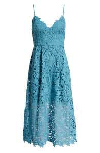 Stylish Blue fashion Dress-M2