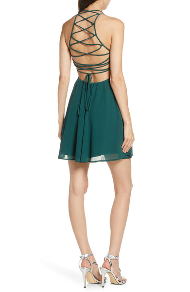 Stylish Backless Fashion Dress-M2