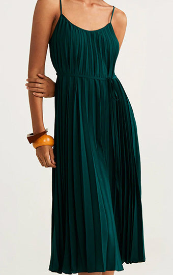 Sleeveless fashion Maxi Dress-M1