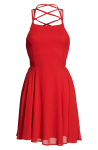Stylish Backless Fashion Dress-M1