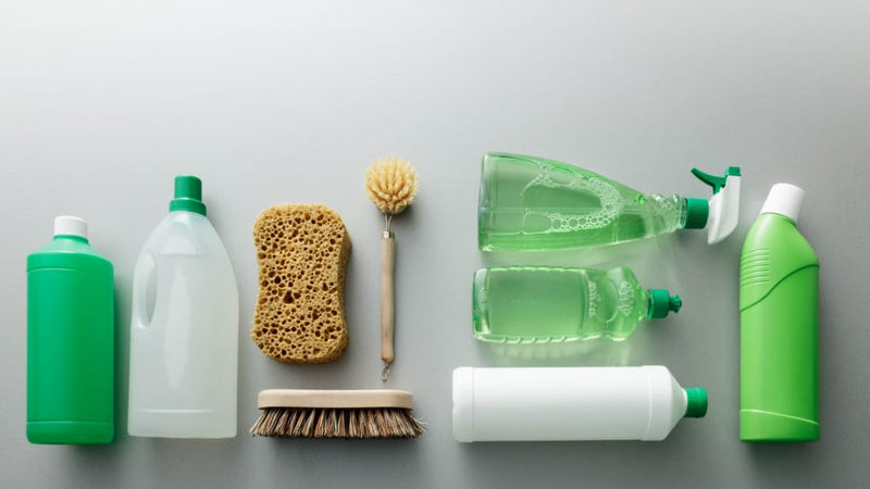 PASSION CREATES A CLEANING RANGE WITH NO NASTY CHEMICALS