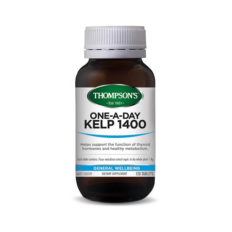 Thompsons Kelp One a Day 1400mg - Go Vita Batemans Bay