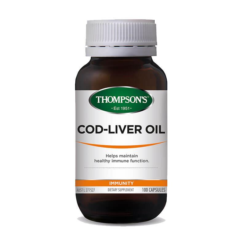 Thompsons Cod Liver Oil Plus - Go Vita Batemans Bay