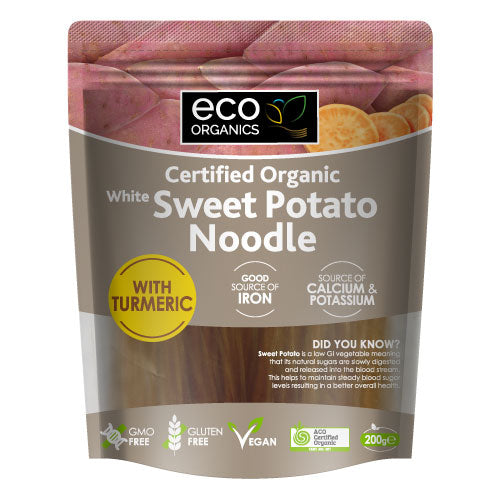 Eco Organics White Sweet Potato Noodles - Go Vita Batemans Bay