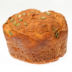 Deeks Pumpkin Loaf Sliced - Go Vita Batemans Bay