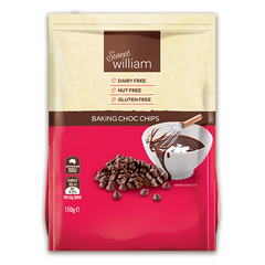 Sweet William Dairy Free Choc Chips - Go Vita Batemans Bay