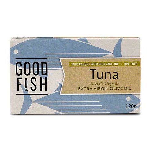 Olive Green Organics Tuna in Extra Virgin Olive Oil - Go Vita Batemans Bay
