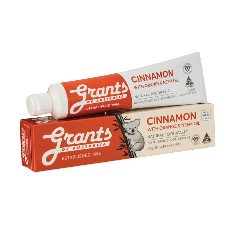 Grants Cinnamon Zest Toothpaste - Go Vita Batemans Bay