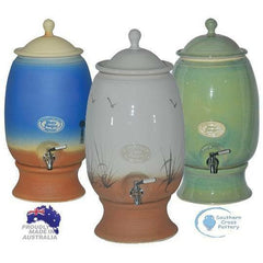 Southern Cross Pottery Large Water Filter 12L - Please contact store to purchase (02) 4472 9737 - Go Vita Batemans Bay